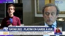Qatar 2022: Michel Platini en garde à vue est entendu par les enquêteurs à Nanterre