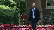 Conservative leadership hopefuls arrive for cabinet meeting