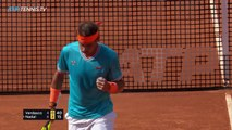 Ruthless Rafael Nadal Shots And Rallies In Win Over Verdasco | Rome 2019