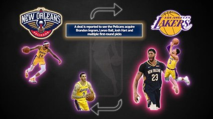What does an Anthony Davis trade to Lakers mean for the NBA?