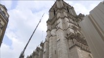 Notre Dame oficiará su primera misa dos meses después del incendio
