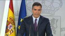 Sánchez pide altura de miras a PP y Ciudadanos para eludir un Gobierno de coalición con Podemos