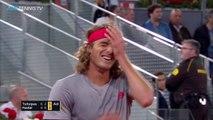 Dramatic Final Moments to EPIC Tsitsipas v Nadal Match | Madrid Open 2019