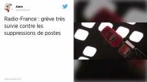 Radio France. Une grève massivement suivie contre les suppressions de postes