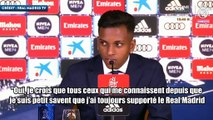 Rodrygo savait qu'il jouerait un jour au Real Madrid