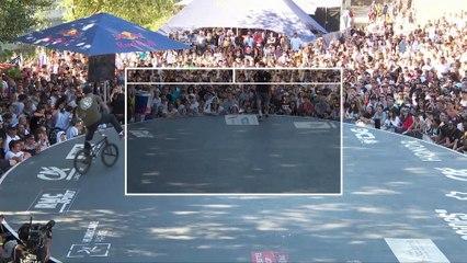 UCI BMX Flatland World Cup Final Top 5   FISE Montpellier 2019