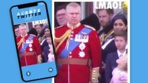 L'échange tendu entre Meghan Markle et le prince Harry pendant le Trooping The Colour (Vidéo) !