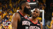 James Harden - Chris Paul have to figure out how to work through their tension - Woj - SportsCenter