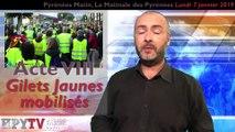 La Télé des Pyrénées :: Pyrénées Matin n°26 du 7 janvier 2019