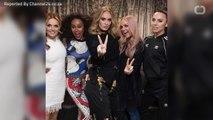Adele Attends Spice Girls Concert