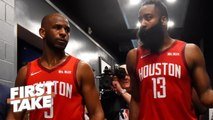 Don't blame James Harden for Chris Paul's bad season – Ryan Hollins - First Take