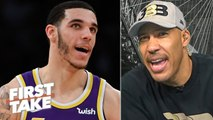 LaVar takes credit for the Lakers trading Lonzo: 'It's raggedy over there' - First Take