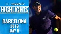 Thiem Sets Nadal Clash; Medvedev To Face Nishikori | Barcelona Open 2019 Quarter-Final Highlights