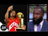 Kyle Lowry is 'the greatest Raptor of all time' right now - Kendrick Perkins - The Jump