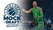 2019 NBA Mock Draft - Spurs select Louis King with No. 29 Pick