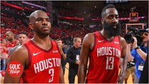 'It's good that there's tension' between Chris Paul and James Harden - Daryl Morey - Golic and Wingo