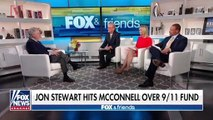 Jon Stewart Rips into Mitch McConnell Over a Bill to Help 9/11 First Responders
