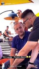 Didier Lacroix et le Ice Bucket Challenge du Stade Toulousain