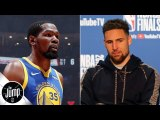 If Klay Thompson and Kevin Durant stay, the Warriors still have big questions to answer - The Jump