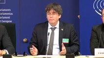 Puigdemont compareix al Parlament Europeu: 'Esperem una decisió abans del 2 de juliol'