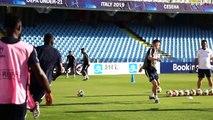 Veille dAngleterre-France Espoirs à Cesena I FFF 2019