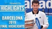 Dominic Thiem Wins First Barcelona Title! | Barcelona 2019 Final Highlights