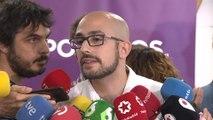 Podemos Andalucía no está a favor de gobierno de coalición con PSOE