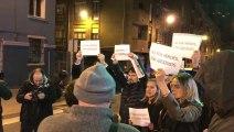 Concentración del PP Vasco tras bienvenida a ex presa de ETA en Bilbao