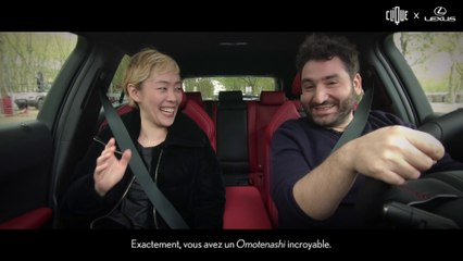 LEXUS #SensationsUrbaines / Satomi Chan/  Épisode 3