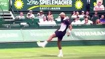 Tennis - Halle - Benoît Paire and Jo-Wilfried Tsonga Play Football