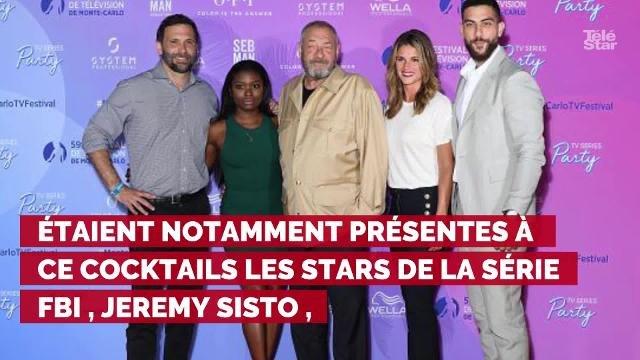 PHOTOS. Kelly McCreary, Maria Bello, Greg Germann... les stars du petit écran reçues au Palais par Albert et Charlène de Monaco