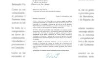 Calvo ofrece por carta al Govern una reunión entre Sánchez y Torra