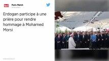 Mort de Mohamed Morsi. Le président turc Recep Tayyip Erdogan participe à une prière funéraire à Istanbul