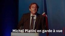 Mondial au Qatar : Michel Platini placé en garde à vue