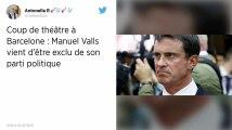Barcelone : Manuel Valls mis à la porte par son parti