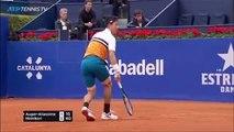 Kei Nishikori Brilliance v Auger-Aliassime   Barcelona Open 2019