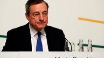 Draghi évoque les taux d'intérêts, Trump se fâche