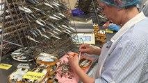 La fabrication d'une boîte de sardine