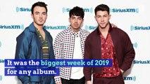 Jonas Brothers' New Album Tops 'Billboard' 200