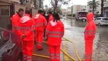 Más de 300 litros de agua por metro cuadrado en Jávea
