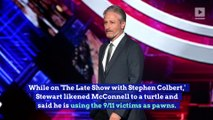 Jon Stewart Fires Back at Mitch McConnell Over 9/11 Compensation Bill