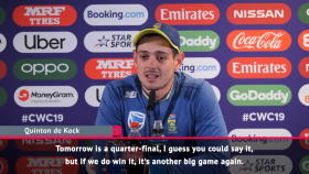 South Africa v New Zealand is like a quarter-final – de Kock
