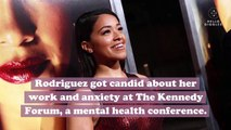 """Gina Rodriguez opened up about her history with depression and why she needed to stop filming """"Jane the Virgin"""""""