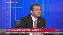 Ekrem İmamoğlu'ndan TRT'ye canlı yayında sert tepki