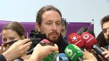 """Pablo Iglesias: """"Nunca la televisión pública puede trabajar a favor de un Gobierno"""""""