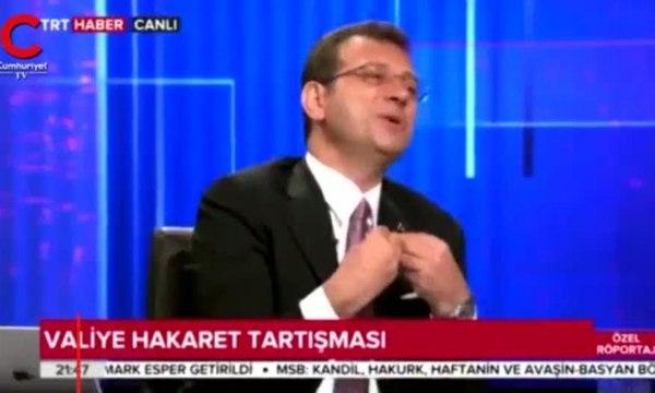 İmamoğlu'nda TRT ekranında TRT'ye flaş sözler