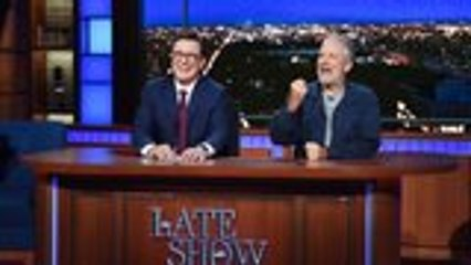 Jon Stewart Continues Criticism of Mitch McConnell During 'Late Show' Appearance | THR News