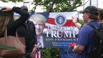 Candidature de Trump en 2020: en Floride ses soutiens campent avant son arrivée, à New York ils aspirent au changement