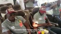 Les Lions Indomptables ont décollé de Doha à bord d'un avion spécial pour Yaoundé