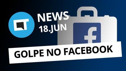 Golpe de emprego no Facebook [CT News]